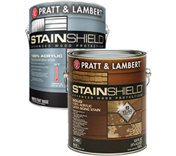 StainShield Solid Color Latex Stain - Pratt & Lambert